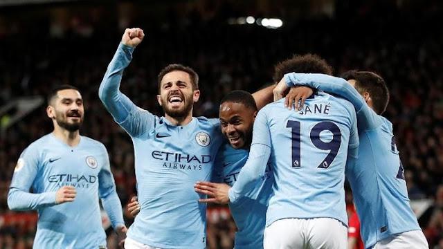 Hasil Liga Inggris: Man United Vs Man City Selesai 0-2