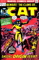 The Cat v2 #1 marvel 1970s bronze age comic book cover art by Wally Wood
