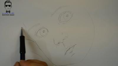 تعليم رسم طفل