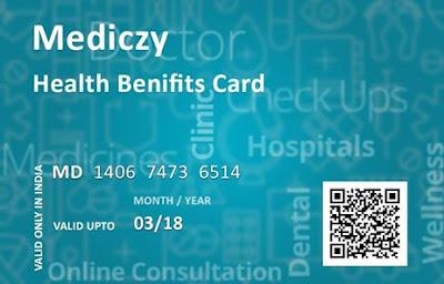 Mediczy health card benefit