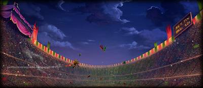 Harry Potter e il Calice di Fuoco: Lo stadio d'oro