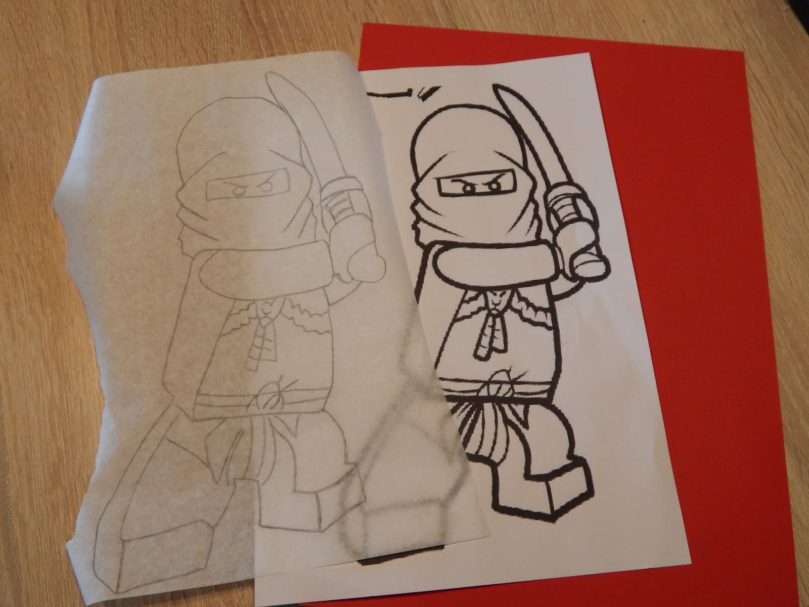 familie und mehr  projekt schultüte von ninjago