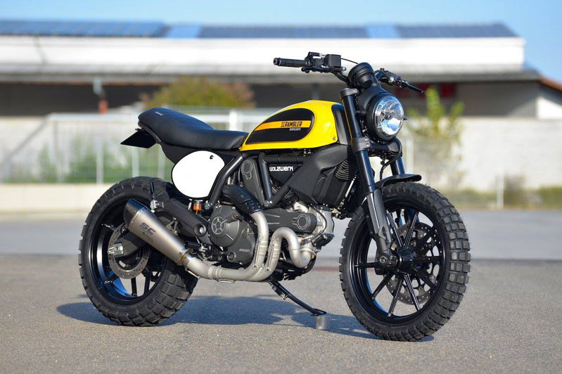 Ducati Scrambler Sitzbank Motorrad Bild Ideen