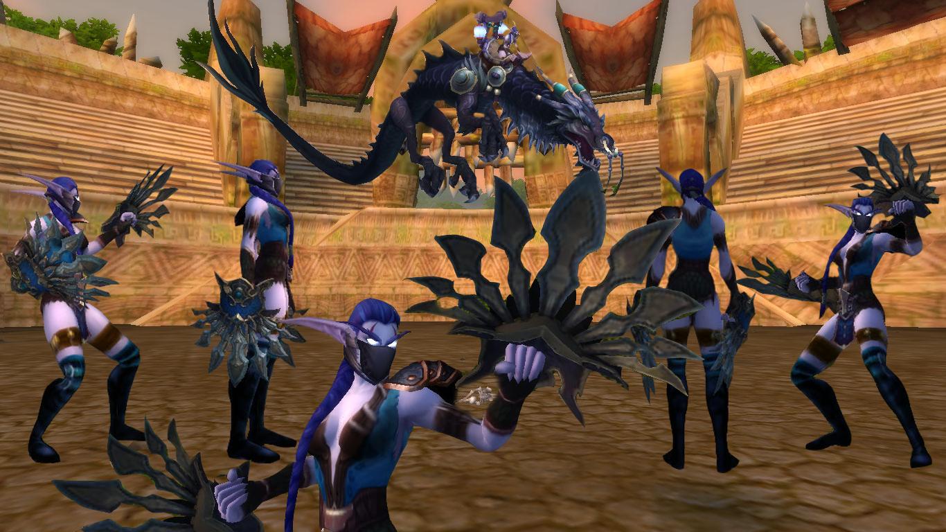 Master of World of Warcraft : Transmogrification: Kitana Mortal Kombat Transmog