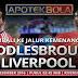 Prediksi Pertandingan - Middlesbrough vs Liverpool 15 Desember 2016 Liga Primer Inggris