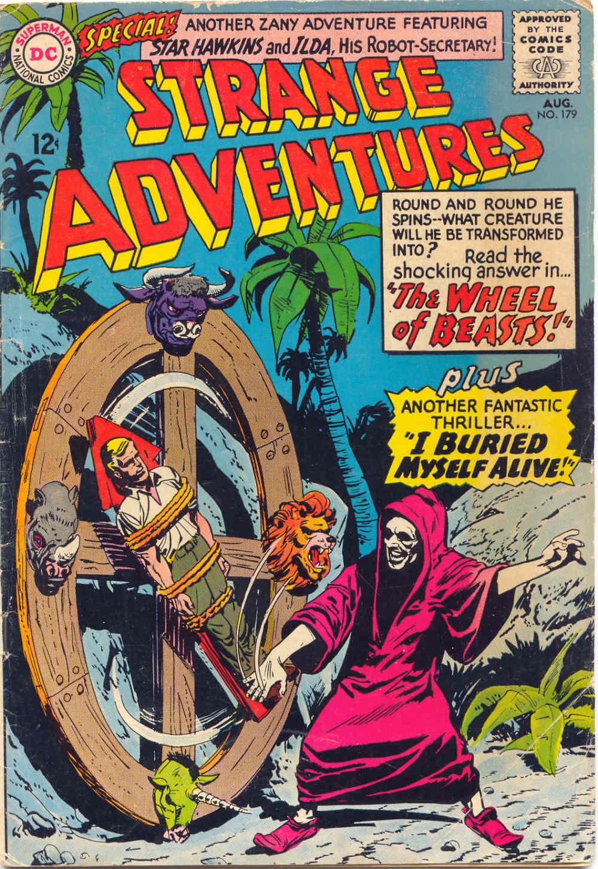 Strange Adventures (1950) issue 179 - Page 1