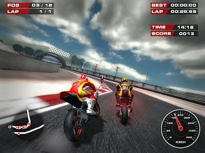 Game Balap Motor Super Bikes Mirip MotoGP Paling Ringan