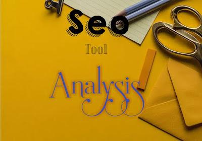 SEO - Tool analysis