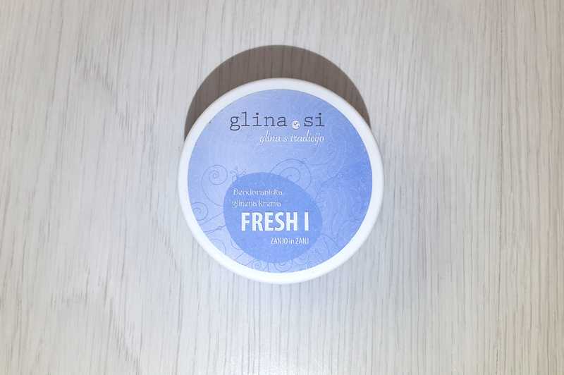 Vermillion Redd: GLINA.SI DEODORANT CREAM FRESH