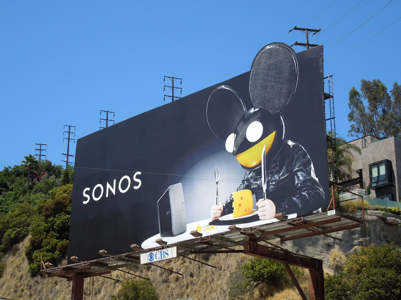 Deadmau5 Sonos billboard