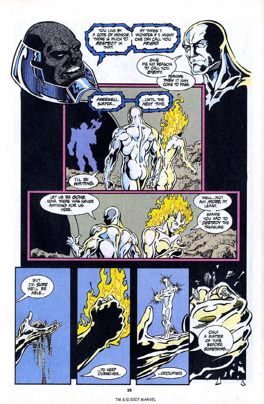 Read online Silver Surfer (1987) comic -  Issue #97 - 31