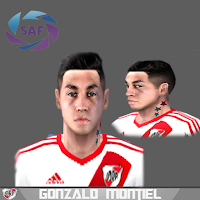 PES 6 Faces Gonzalo Montiel by Gabo Facemaker
