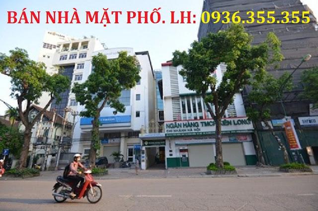 Bán nhà mặt phố Trần Hưng Đạo - Hoàn Kiếm