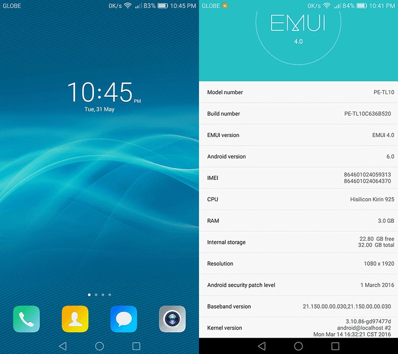 Huawei Marshmallow update on Honor 6 Plus