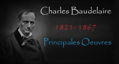 Le poète français Charles Baudelaire
