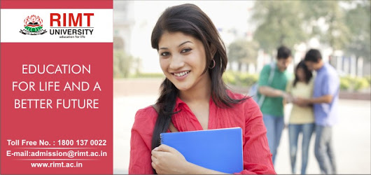 RIMT university in Punjab proves best help for making the desired career