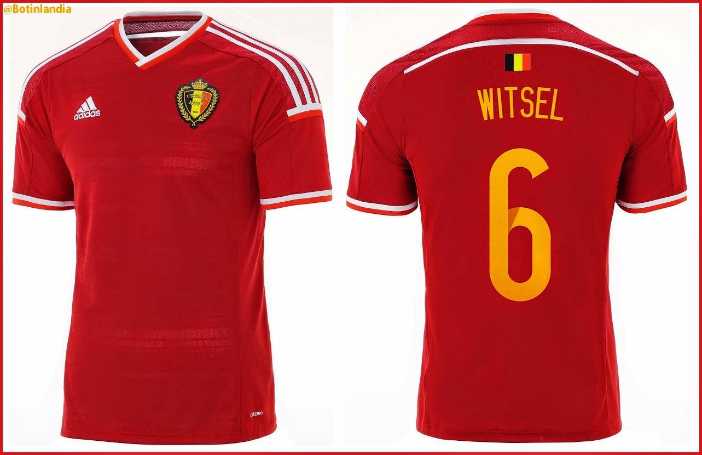 Nuevas camisetas adidas de Bélgica 2014 16!  9a8be87f4d502