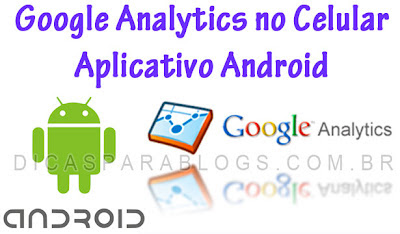 Aplicativo do Google Analytics para android