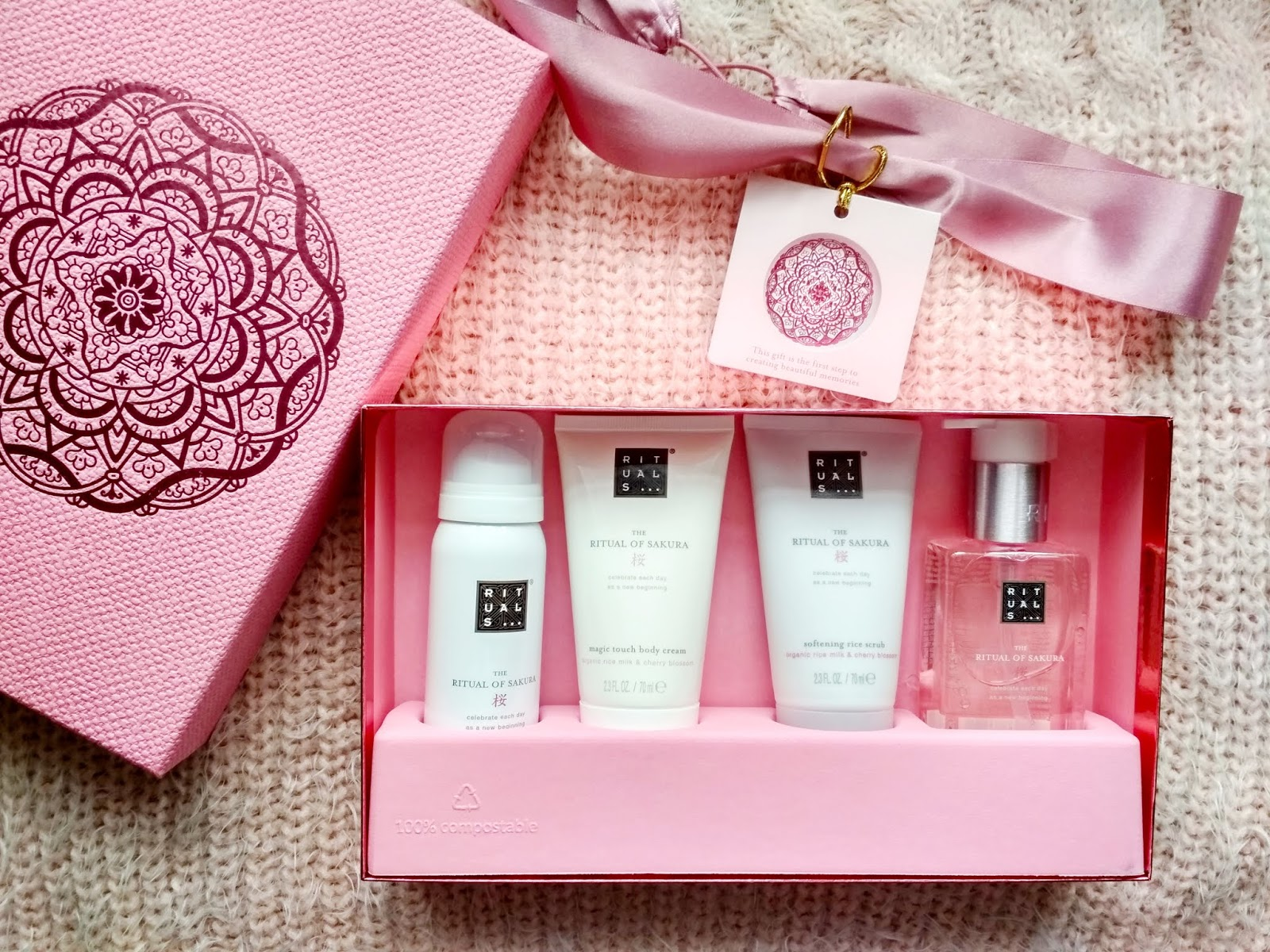 Recenzja - Rituals the Ritual of Sakura zestaw prezentowy