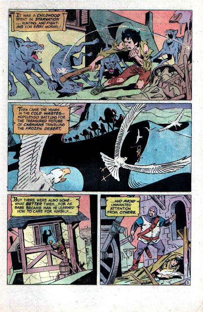 Stalker v1 #1 dc bronze age comic book page art by Steve Ditko, Wally Wood