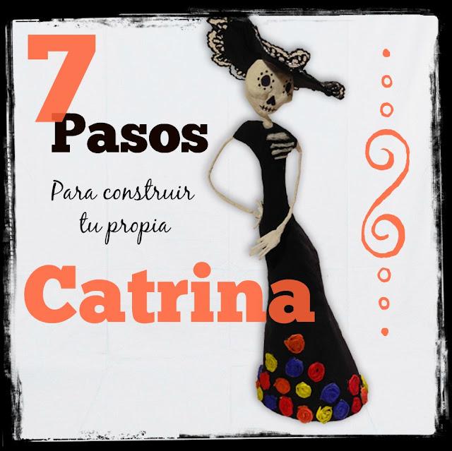 7 pasos para hacer tu propia Catrina para un altar de muertos