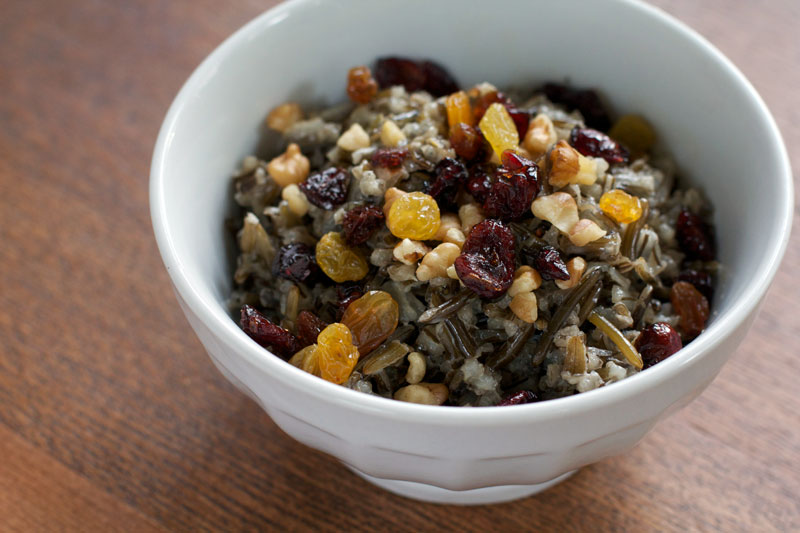Wild Rice Porridge || A Less Processed Life