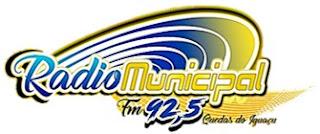 Rádio Municipal FM 92,5 de Quedas do Iguaçu PR