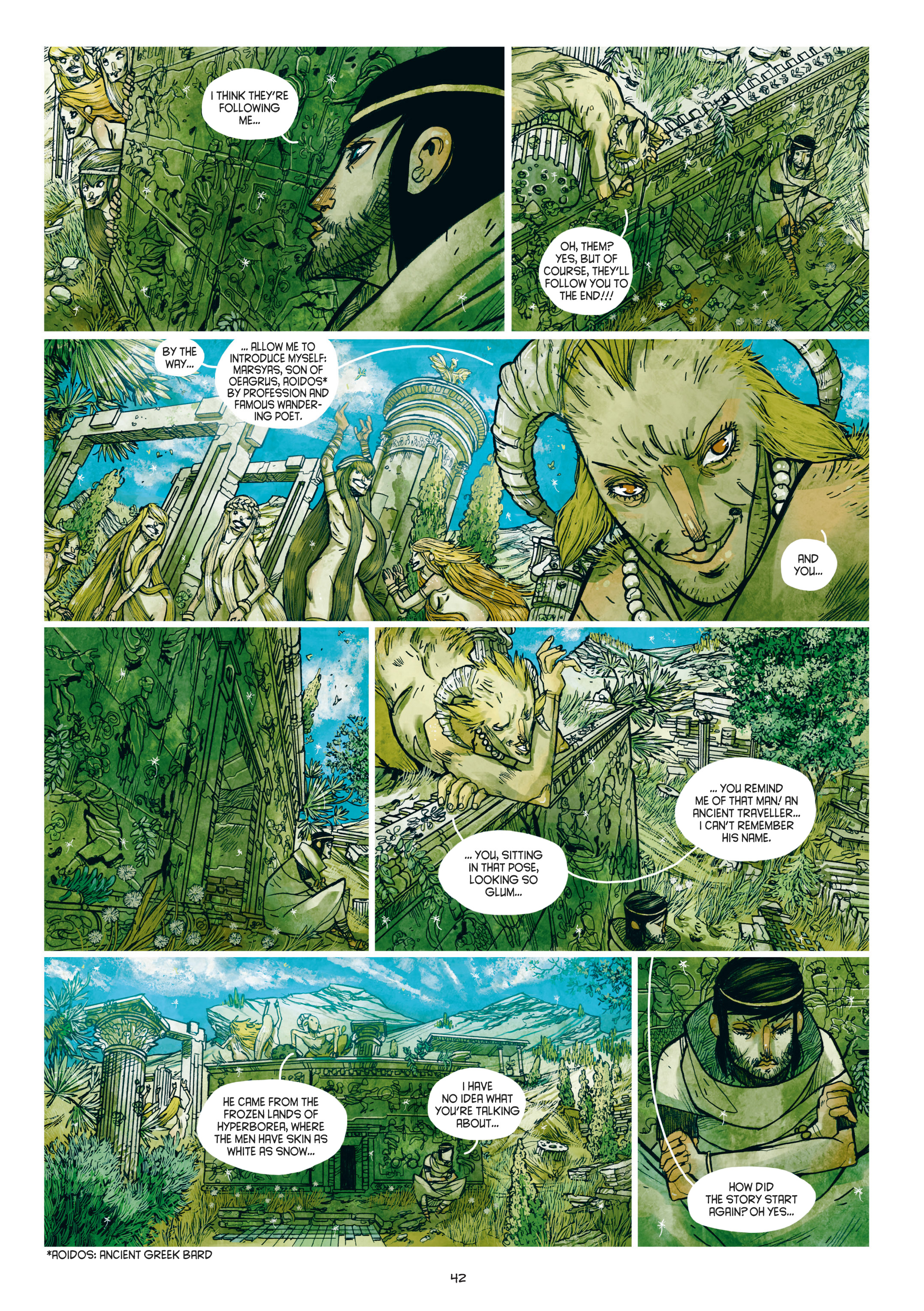 Read online Adrastée comic -  Issue #1 - 43