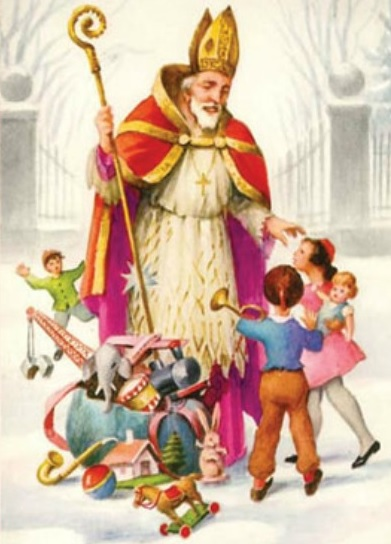 "Saint Nicholas is grossly Mispronounced ""Santa Claus"" and it Stuck!"