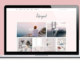 Abigail Themes - Responsive Blogger Template