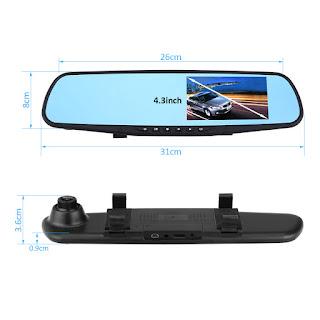 specchietto telecamera auto