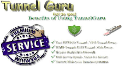 Tunnel Guru Premium Account 2015 | Working