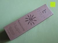Verpackung: Natürliche Sonnenlotion SPF 25 - Beauty by Earth komplett natuerlich, Bio-Mineralien Sonnenblock & Sonnencreme - 118 ml - Hergestellt in USA