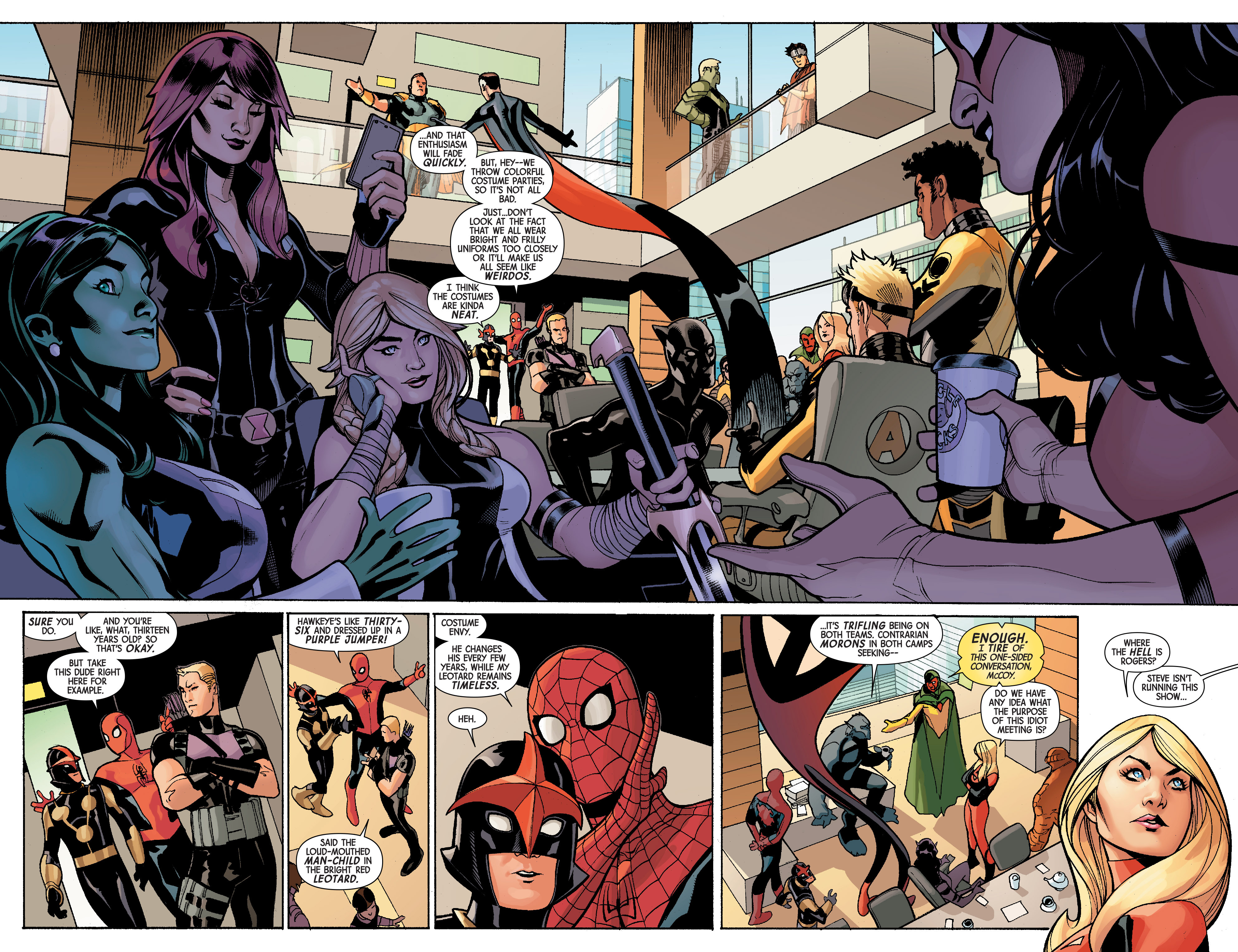 Read online Avengers & X-Men: AXIS comic -  Issue #5 - 6