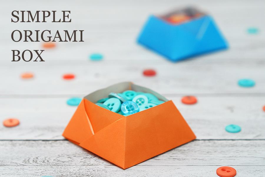 SIMPLE ORIGAMI BOX   SAS does ...: SIMPLE ORIGAMI BOX - photo#44