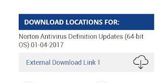 ابديت نورتون انتي فيروس بتاريخ 4-1-2017