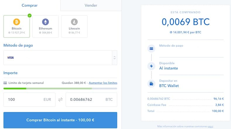 Comprar Moneda Digital Coinbase Ethereum o Bitcoin