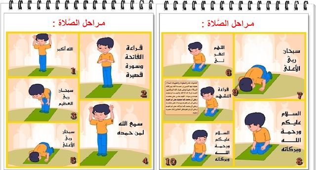 مراحل الصلاة