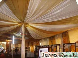 Sewa Tenda Dekorasi VIP - Rental Tenda Dekorasi VIP Acara