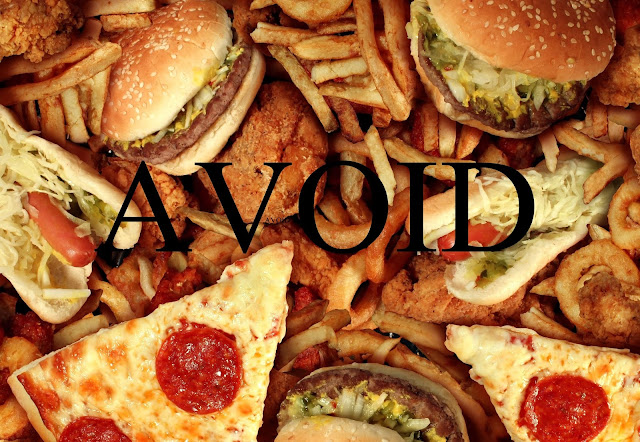 no to junk food