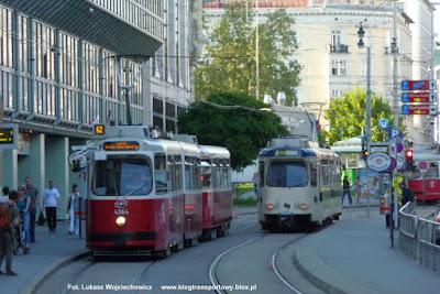 E2+C5 #4064+1460, Wiener Linien, GT8 Wiener Lokalbahnen