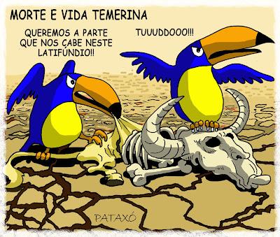 Resultado de imagem para temer tucanos charge