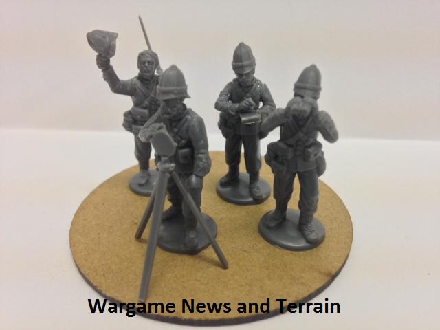 Perry Miniatures: Plastic British Zulu War Infantry Heliograph