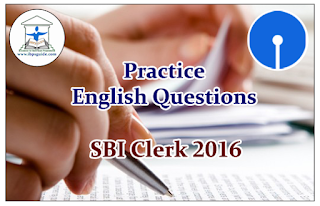 SBI Clerk Prelims 2016- Practice English Questions (Reading Comprehension)