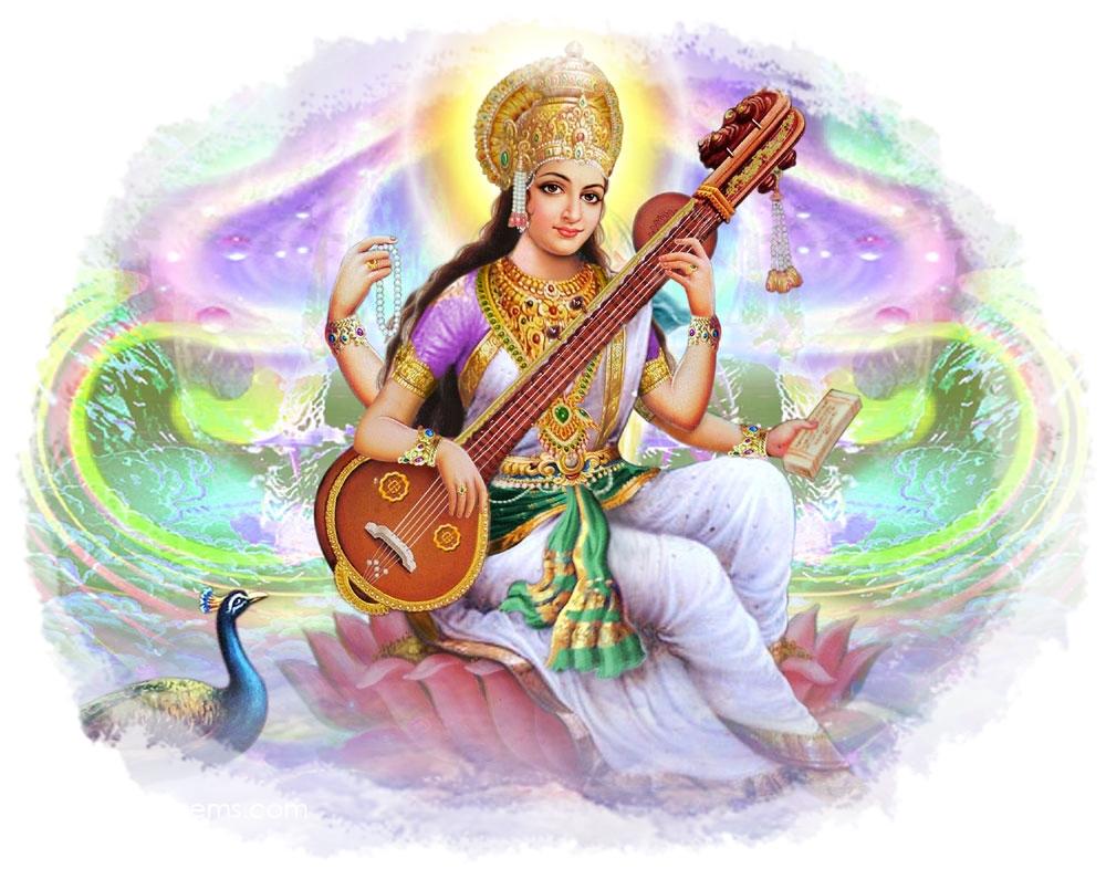 Pante n hinduismo sarasvati diosa del conocimiento - Principios del hinduismo ...