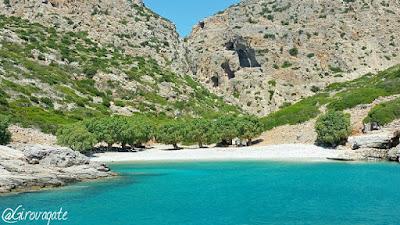 palatia spiaggia Saria Karpathos