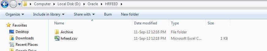 IAM IDM: OIM 11G R2 Lab 3: Flat file Recon To Create User in