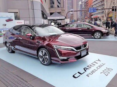 Honda Clarity Fuelcell 2016