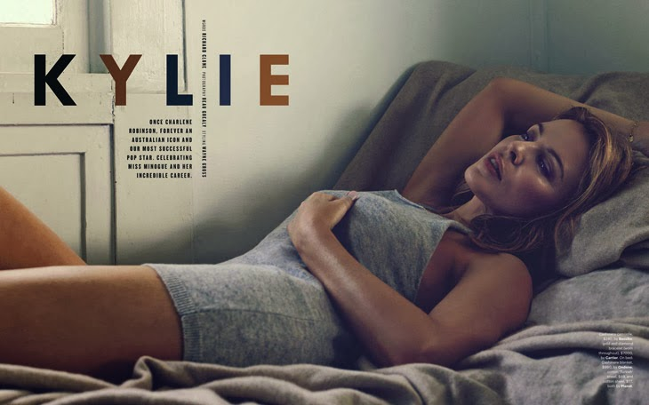 Kylie Minogue for GQ Australia by Beau Grealy