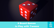 9 Board Games to Play with Tweens this Christmas (AD)